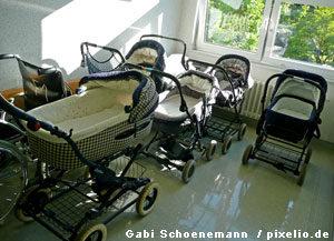 Kinderwagen im Treppenhaus abstellen. Ist das Erlaubt ?