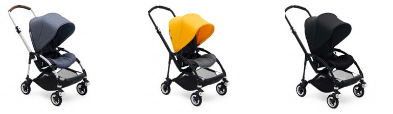 Bugaboo Bee5 in 3 Farben