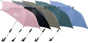 Bugaboo Sonnenschirme gibt es in verschiedenen Farben