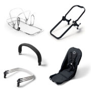 Bugaboo Donkey Duo Erweiterungsset All Black