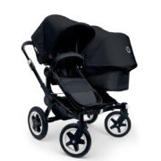 Bugaboo Donkey Duo Kinderwagen All Black Special Edition