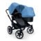 Bugaboo Donkey Duo Kinderwagen Gestell All Black