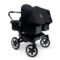 Bugaboo Donkey Twin Kinderwagen All Black Special Edition