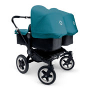 Bugaboo Donkey Twin Kinderwagen Gestell All Black
